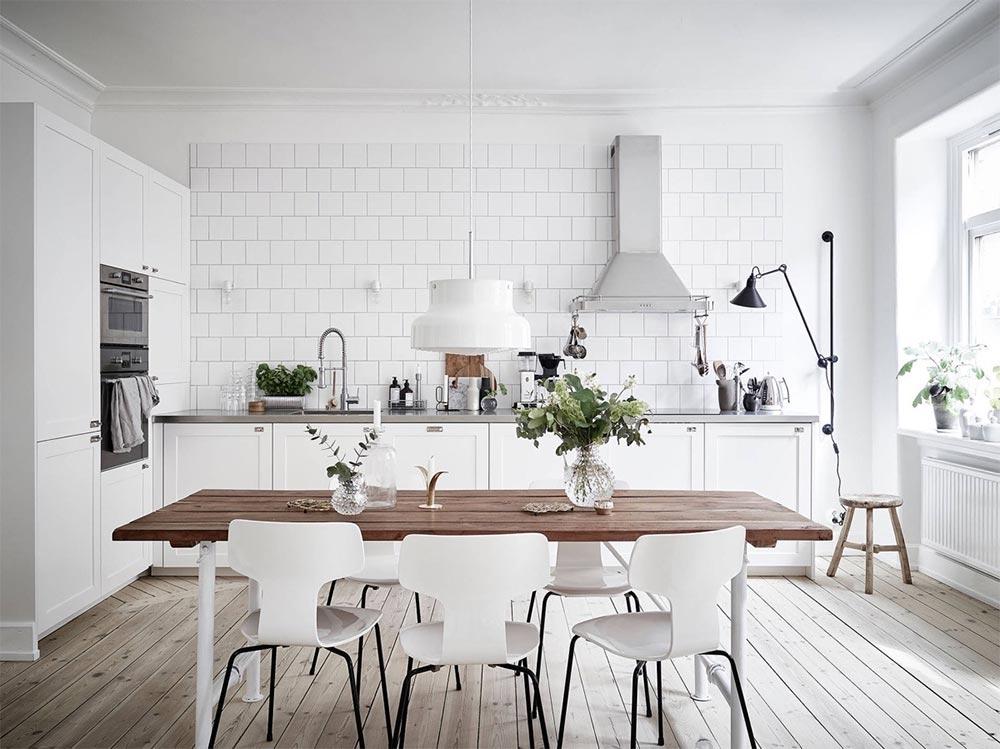 come arredare la cucina seguendo uno stile