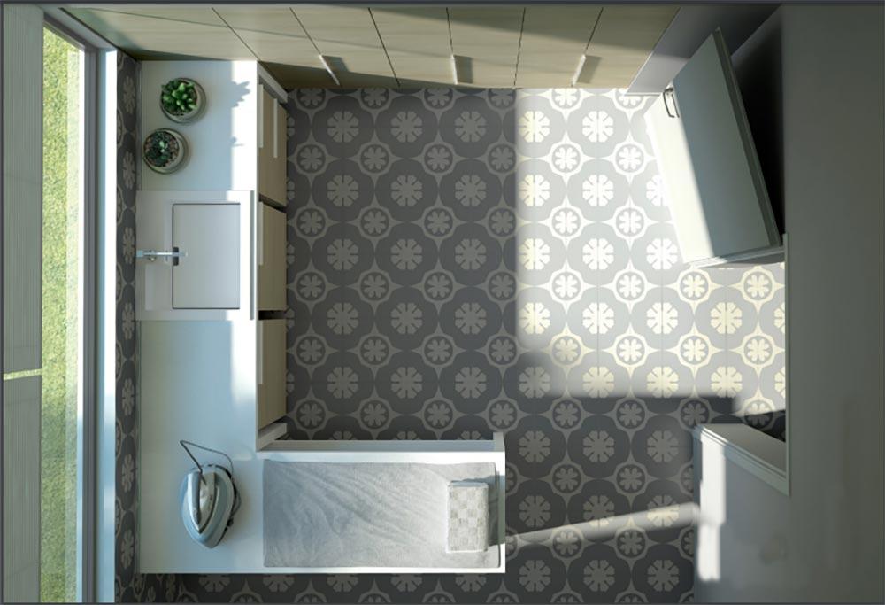 progettare una lavanderia in casa