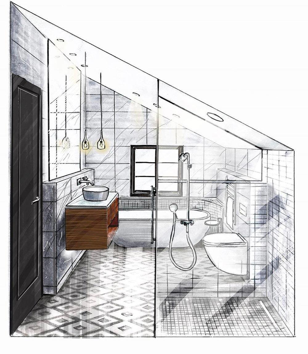 progettare il bagno, consigli e trucchi