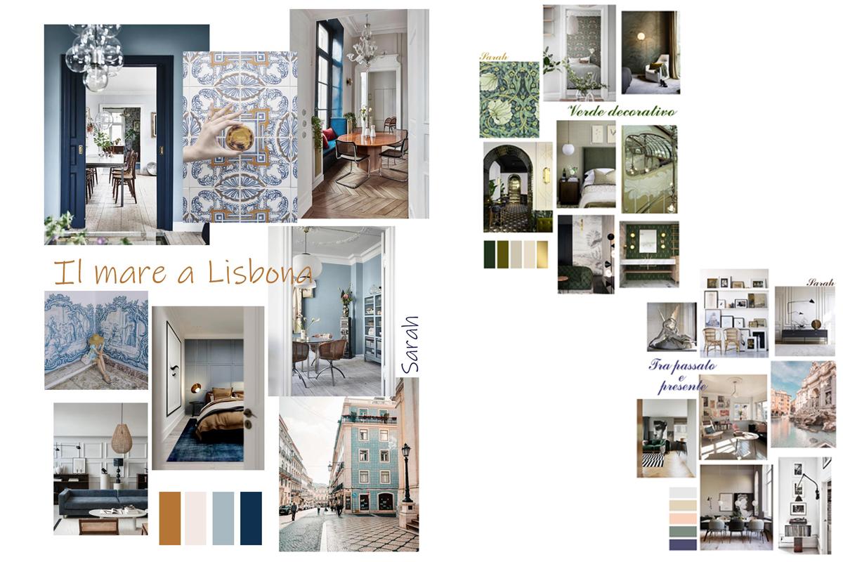 progetto d'interni on line un appartamento a Roma
