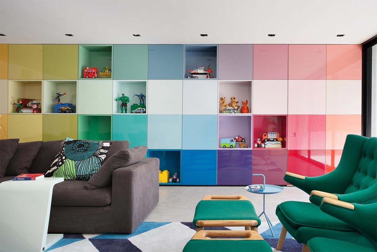 colore in una stanza
