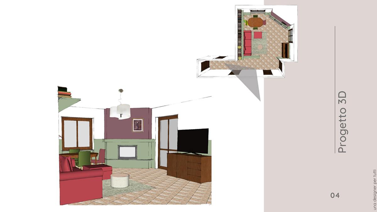 progetto home styling arredo e colore