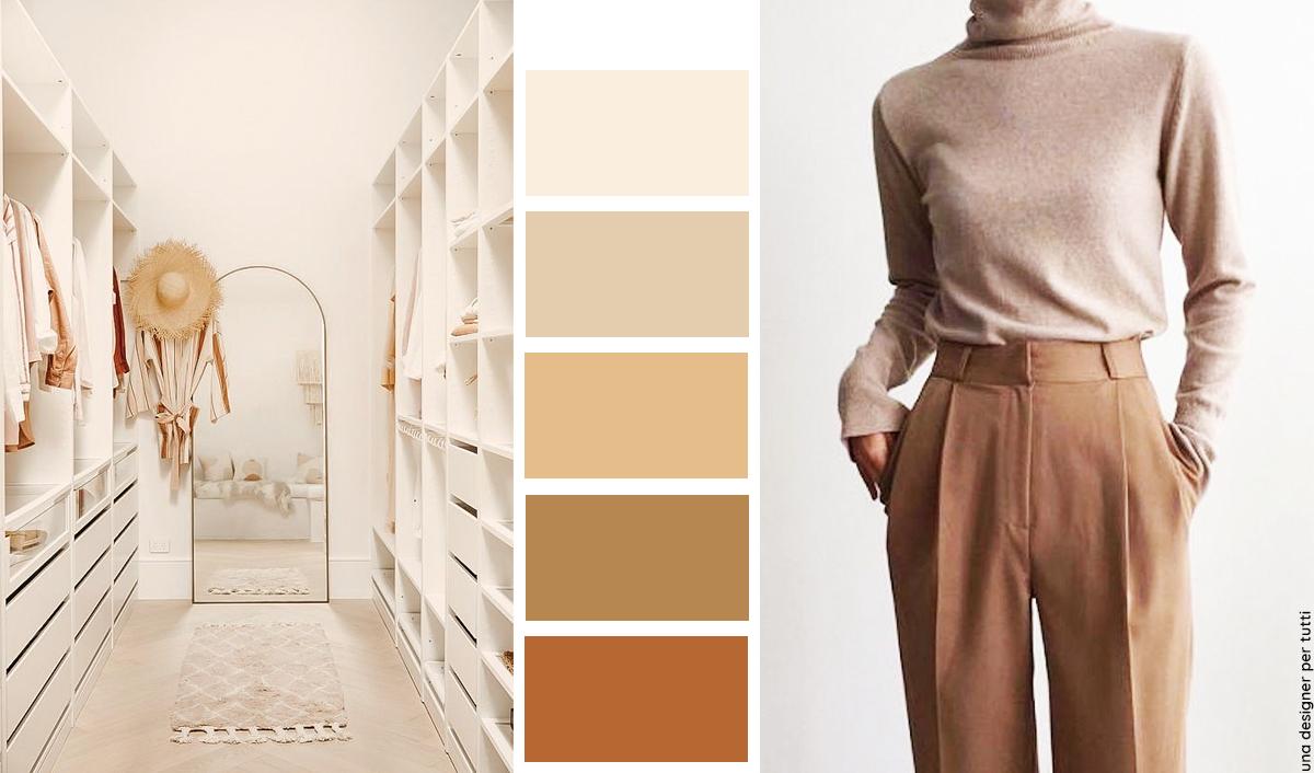 Palette colori per casa. Come realizzarla